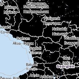 Türkische Riviera Karte.Wetter Türkei Wettervorhersage Wetterkarte Wetter De