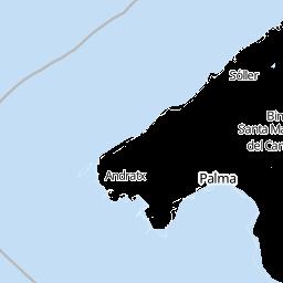Unwetter Mallorca Karte.Wetter Mallorca Wettervorhersage Für Mallorca Wetter De